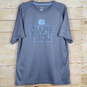 """UNC Tar Heels """"Chapel Thrill"""" T-shirt Size Lg"""